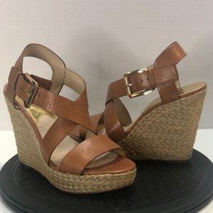 Michael Kors Giovanna Espadrille Wedge Sandals